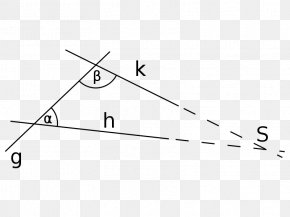 Line Angle Point Pattern - Parallel Postulate Euclidean Geometry Axiom Postulado PNG