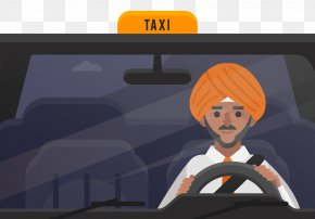 Taxi Driver - Taxi Euclidean Vector PNG