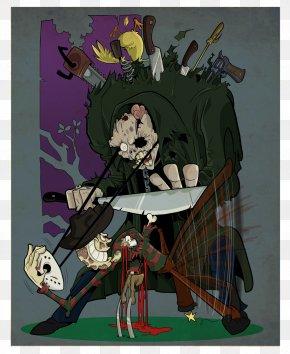 Youtube - Jason Voorhees Freddy Krueger YouTube A Nightmare On Elm Street Fan Art PNG