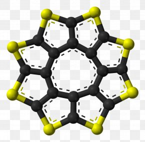 Molecule Sulflower Vector Graphics Image Anthanthrene PNG