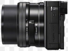 Sony A6000 - Sony α6000 Sony α7 Mirrorless Interchangeable-lens Camera APS-C 索尼 PNG