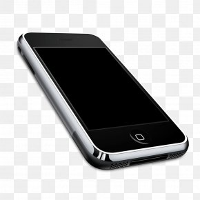 Apple Iphone Image - Telephone Icon PNG