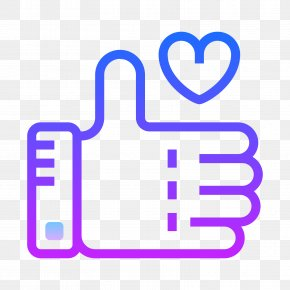 Share - Like Button Facebook Thumb Signal PNG