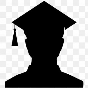 University Graduation - Graduation Ceremony Square Academic Cap Silhouette Graduate University PNG