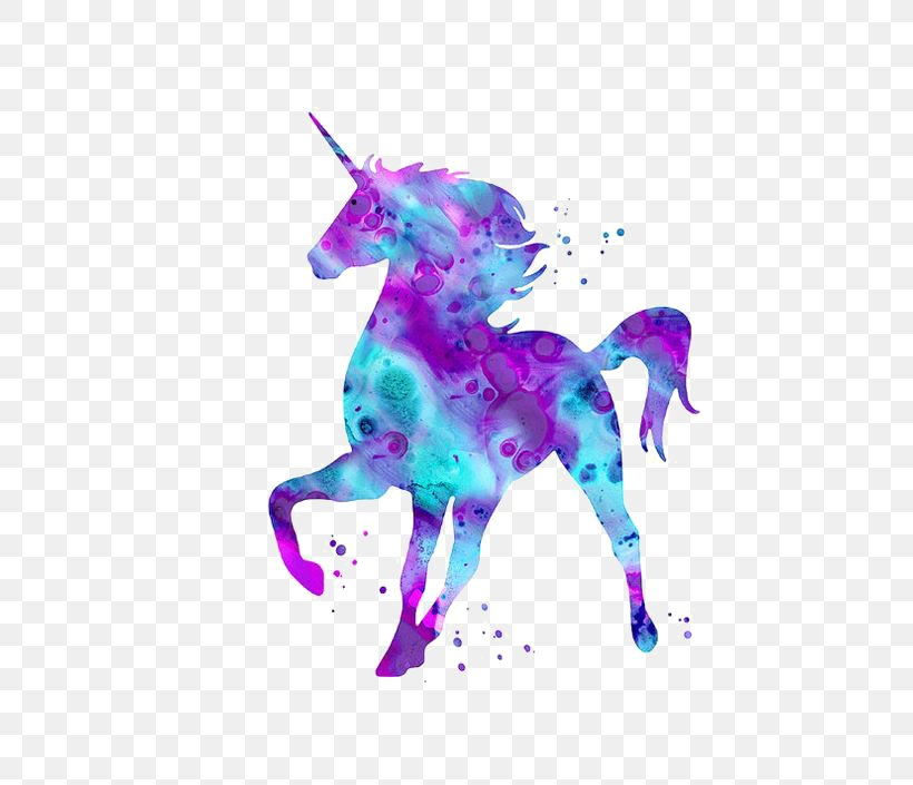 Unicorn Mythology Being Wallpaper, PNG