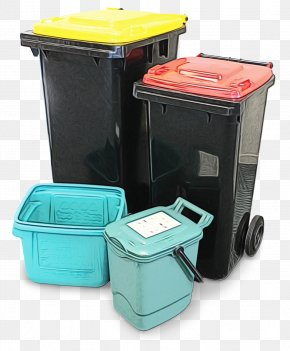 Lid Waste - Waste Container Plastic Food Storage Containers Waste Containment Recycling Bin PNG