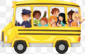 Bus Cliparts Transparent - School Bus Yellow Clip Art PNG