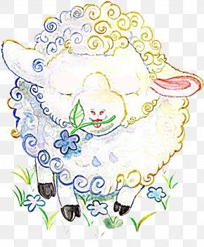 Sheep - Watercolor Painting Sheep Drawing Clip Art PNG