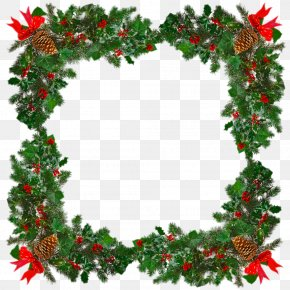 Creative Square Christmas Tree - Christmas Wreath Stock Photography Garland Clip Art PNG