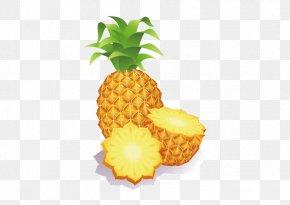 Vector Pineapple - Pineapple Fruit Clip Art PNG