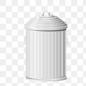 Trash Can - Waste Container Stainless Steel PNG