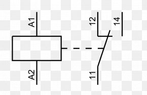 Relay Symbol - Relay Electronic Symbol Circuit Diagram Electrical Switches PNG