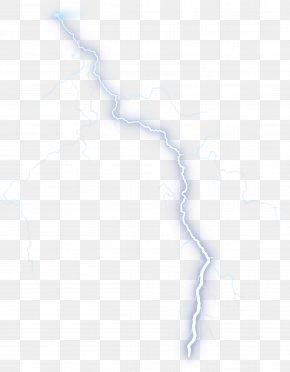 Lightning - White Angle Pattern PNG