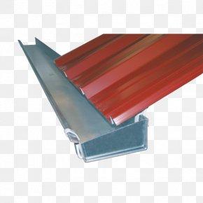 Steel Eavesdrip Roof Gutters Electrogalvanization PNG