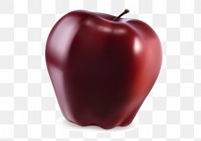 Red Delicious Apple Fruit - Apple Red Delicious Fruit PNG