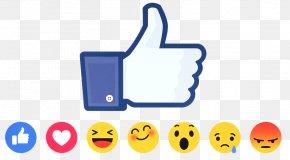 Social Media - Social Media Facebook Like Button Emoji Emoticon PNG