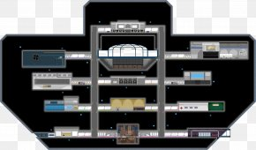 Space Station - Starbound Mother Ship Game Spacecraft PNG