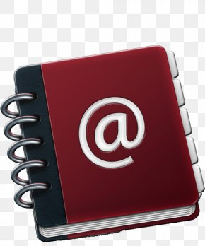 Book - Address Book Icon Design PNG