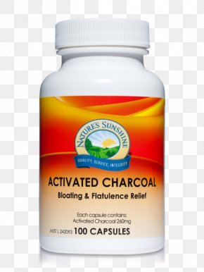 Activated Carbon - Nature's Sunshine Products Activated Carbon Charcoal Capsule Dietary Supplement PNG