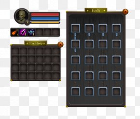 Game Ui - Graphical User Interface Role-playing Game Button PNG