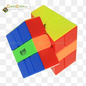 Colored Squares - Jigsaw Puzzles Square-1 Rubik's Cube Toy Block PNG