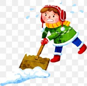 Snow Kids - Snow Shovel PNG