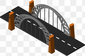 Urban Transport Road Bridge - Bridge Euclidean Vector Royalty-free PNG