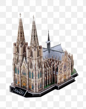 Cologne Cathedral - Cologne Cathedral Milan Cathedral Puzz 3D St. Patrick's Cathedral Jigsaw Puzzle PNG