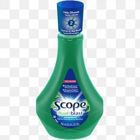 Mint - Mouthwash Fluid Ounce Milliliter Mint Liquid PNG