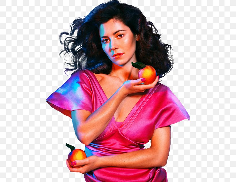 Marina And The Diamonds Froot Happy Musician Png 498x633px