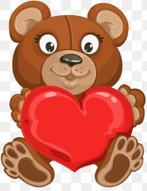 Valentine's Day - Valentine's Day Desktop Wallpaper Bear Clip Art PNG