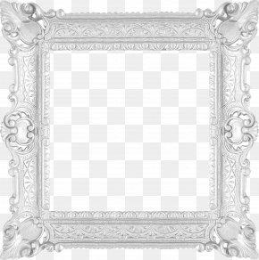 White Frame - White Picture Frame Clip Art PNG