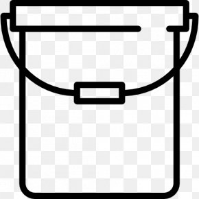 Bucket Icon - Bucket Washing Cleaning PNG