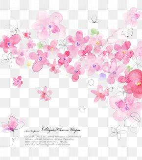 Floral Designs - Floral Design Flower Pink Pattern PNG