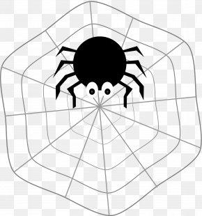 Spider Web - Spider Web T-shirt Clip Art PNG