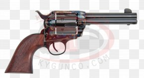 Colt Single Action Army .45 Colt Revolver Firearm Pistol PNG
