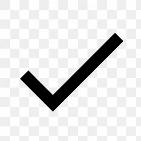 Black Check Mark - Check Mark PNG