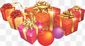 Christmas Ornament Present - Christmas Gift New Year Gift Gift PNG