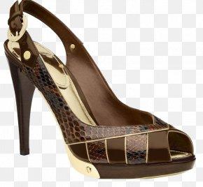 Ms. High-heeled Snakeskin Sandals - Court Shoe High-heeled Footwear Louis Vuitton Sandal PNG