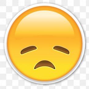 Sad Emoji - Emoji Emoticon Clip Art PNG