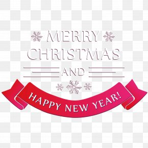 Merry Christmas Happy New Year - New Years Day Christmas Chinese New Year PNG