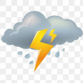 Rainy Weather Icon Material PNG