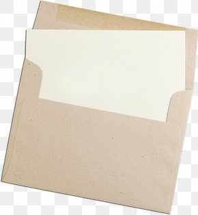 Envelope - Paper Material Beige PNG