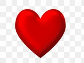 Heart - 3D Computer Graphics Heart Clip Art PNG