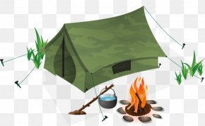 Green House - Camping Tent Outdoor Recreation Picnic PNG