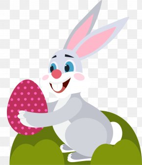 Easter Bunny - Easter Bunny Little White Rabbit Clip Art PNG