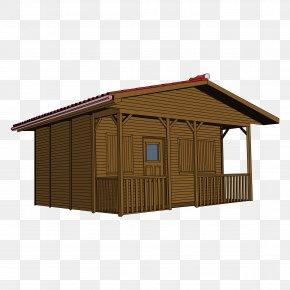 Big Log Cliparts - House Wood Log Cabin Clip Art PNG
