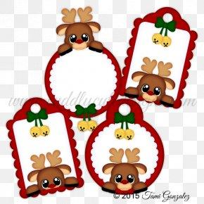 Reindeer - Reindeer Christmas Ornament Santa Claus Christmas Decoration PNG