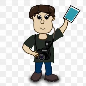 Animated Boy Cliparts - Photography Photographer Free Content Clip Art PNG