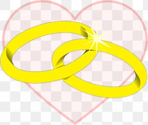 Heart With Wedding Ring Clipart - Wedding Ring Clip Art PNG